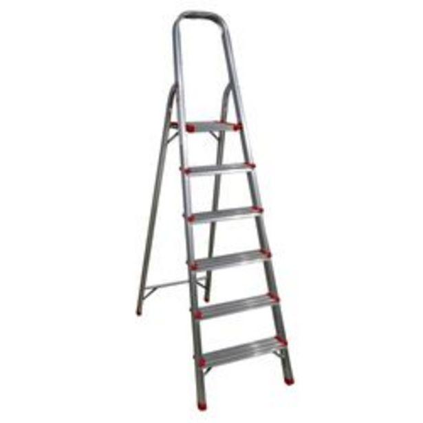 Oferta de Escalera Plegable Hogareña Plus Furniture por $7,79