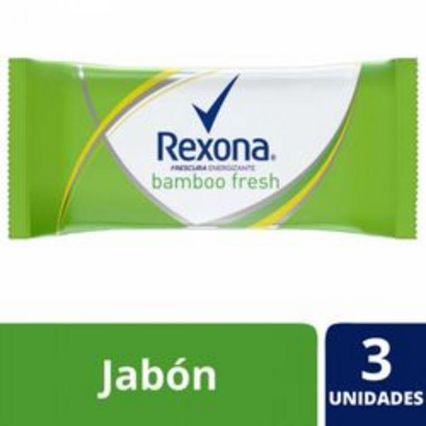Oferta de Jabón en Barra Rexona Bamboo Fresh 125 Gr. 3 U. por $120