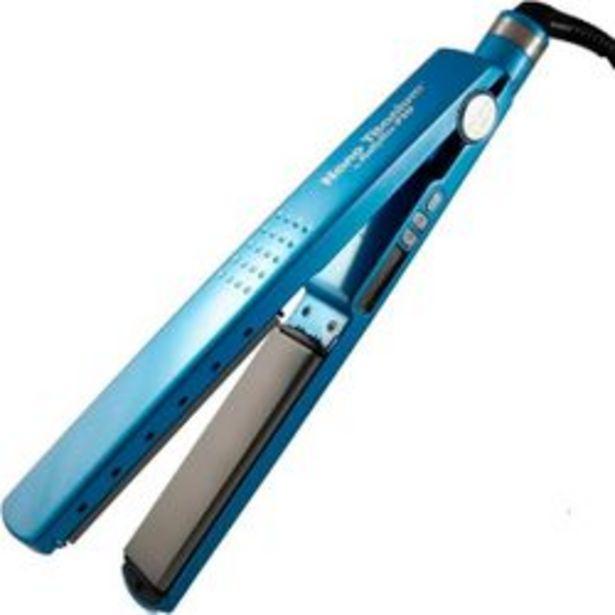 Oferta de Planchita de Pelo Babyliss Pro 2091 Azul por $7,9