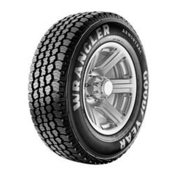 Oferta de Neumático Goodyear Wrangler Armortrac 235 / 70 R16 109 S por $15,942