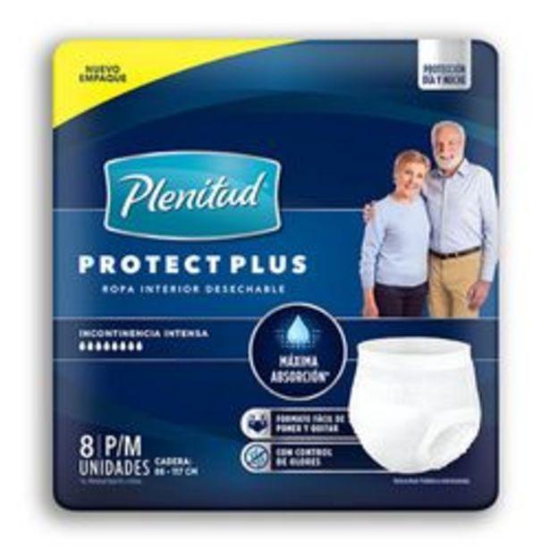 Oferta de Ropa Interior Unisex Plenitud Protect Plus 8 U. Pequeño/Mediano por $576