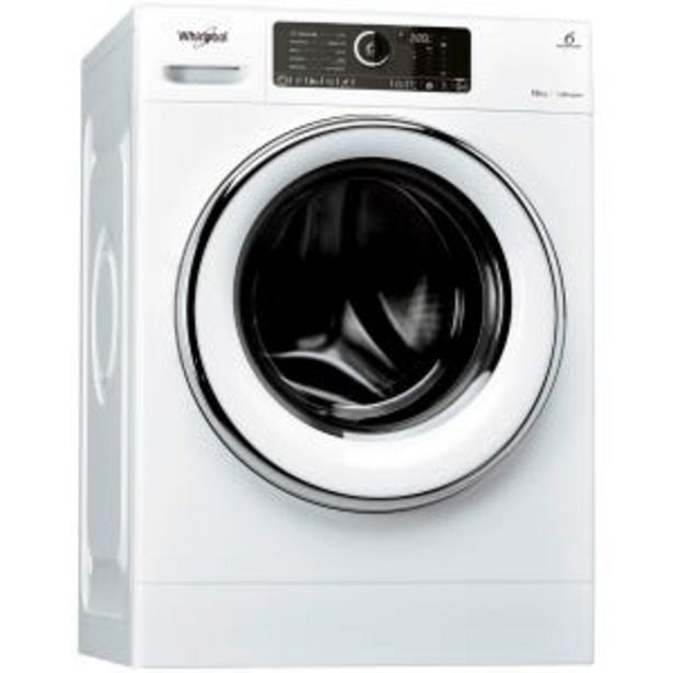 Oferta de Lavarropas Sense Inverter Whirlpool WLCF10B 10kg 1400RPM por $78699