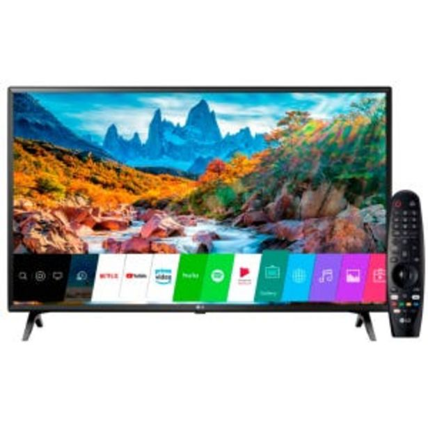 Oferta de Smart Tv LED 43 Lg UM7360 UHD 4K WebOS4.5 por $59999