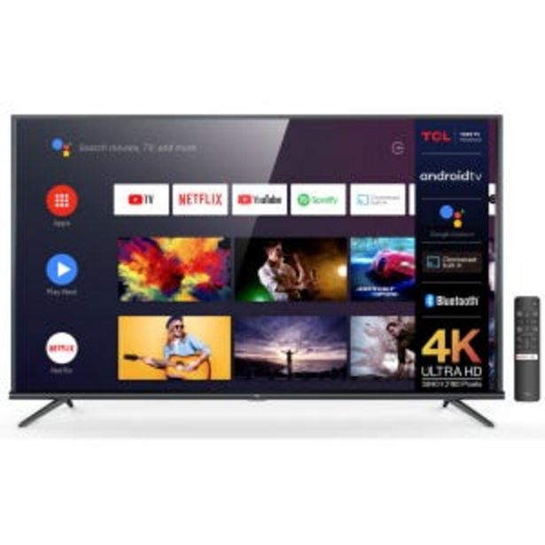 "Oferta de Smart Tv  Led 65"" TCL L65P8M 4K UHD Android por $90669"
