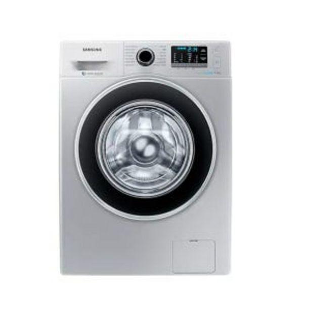 Oferta de Lavarropas Samsung WW90J5410GS 9Kg CF 1400rpm Pl por $66499