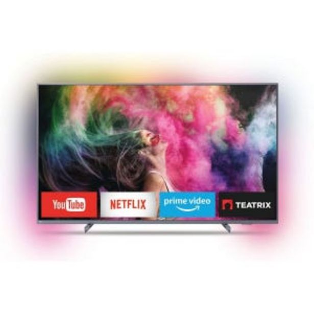 Oferta de Smart Tv Led 65 Philips 65PUD6794 4K UHD Ambilight por $101639