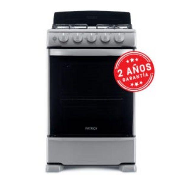 Oferta de Cocina Patrick 55cm Luz Encendido Eléctrico Inox CP6855I por $39999