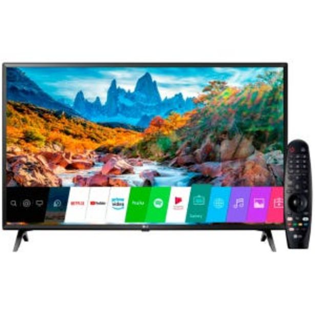 "Oferta de Smart Tv LED 50"" Lg 50UM7360 4K UHD HDR por $69999"