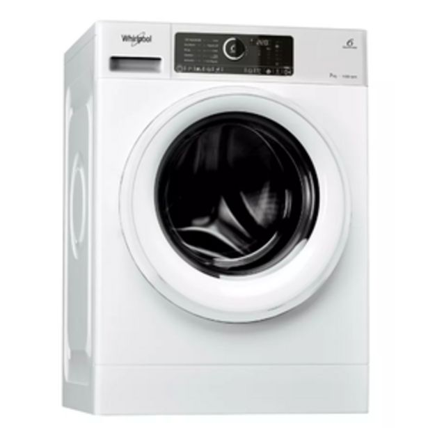 Oferta de Lavarropas Whirlpool Sense Inverter WLCF70B 7kg CF 1400RPM Blanco por $55999