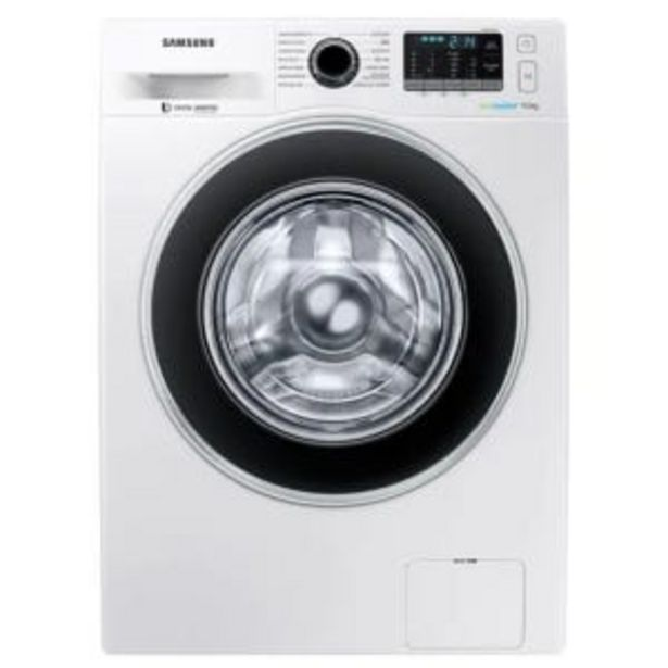 Oferta de Lavarropas Samsung WW90J5410GW 9Kg CF 1400rpm por $62499