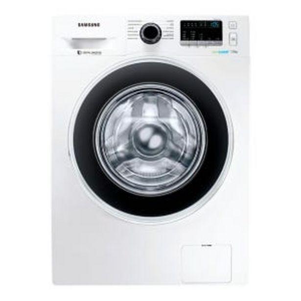 Oferta de Lavarropas Samsung WW70J4463GW 7K CF 1400rpm por $53599
