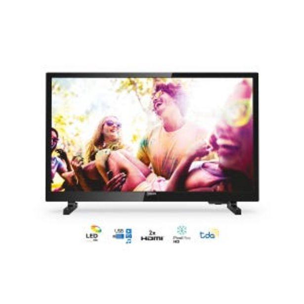 Oferta de Tv LED 24 Philips 24PHD5565 HD Digital por $19529