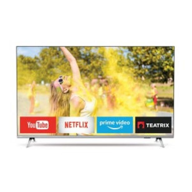"Oferta de Smart  Tv Philips 4K 58"" 58PUD6654 por $75999"