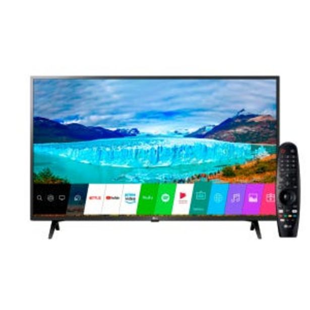 "Oferta de Smart Tv LED 43"" LG 43LM6350PSB FHD por $46829"