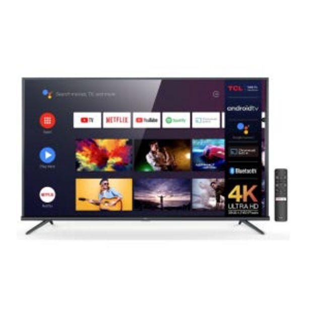 "Oferta de Smart Tv LED 65"" TCL L65P8M 4K UHD Android por $90669"