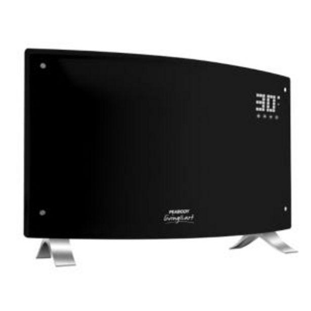 Oferta de Panel electrico Peabody Digital Curvo Negro 2000w PE-VQD20N por $10639