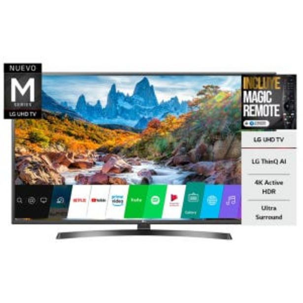 Oferta de Smart Tv Led 60 Lg 60UM7270 4K UHD HDR por $109609