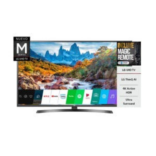 """Oferta de Smart Tv LED 60"""" LG 60UM7270 4K UHD HDR por $109609"""
