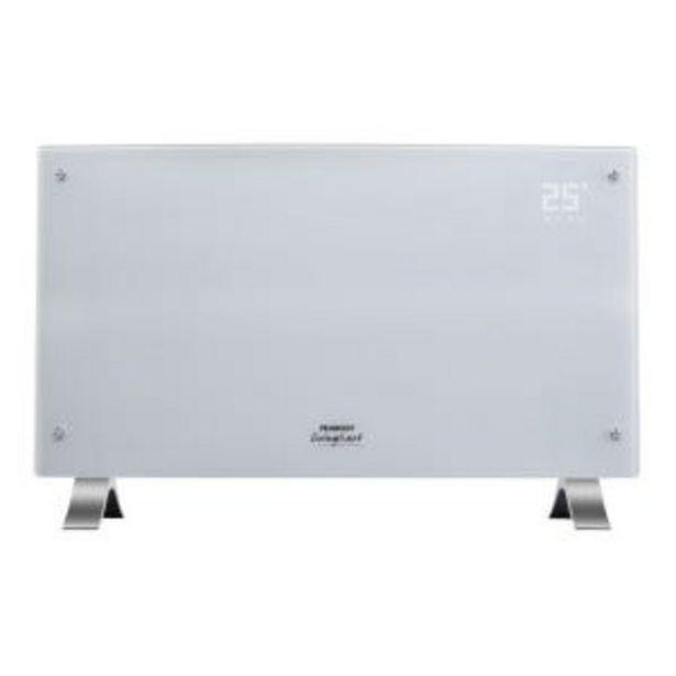 Oferta de Panel electrico Peabody Digital Curvo Blanco 2000w PE-VQD20B por $10639