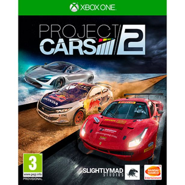 Oferta de Juego para Xbox One Project Cars 2 por $900