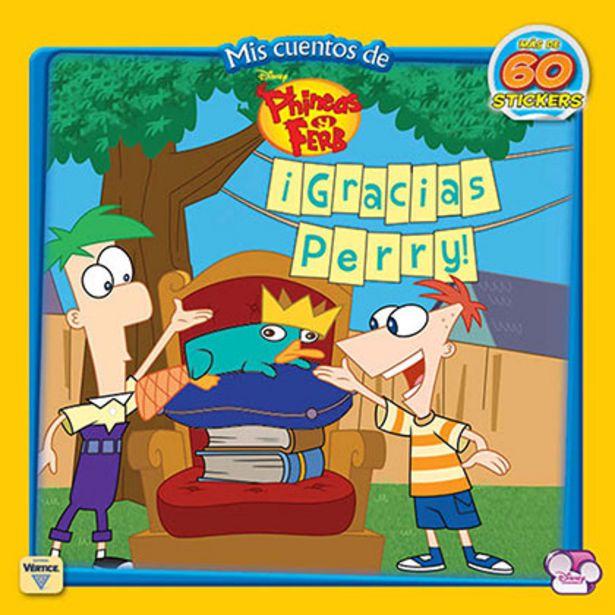 Oferta de Cuento Disney Cuentos Phineas y Ferb por $15