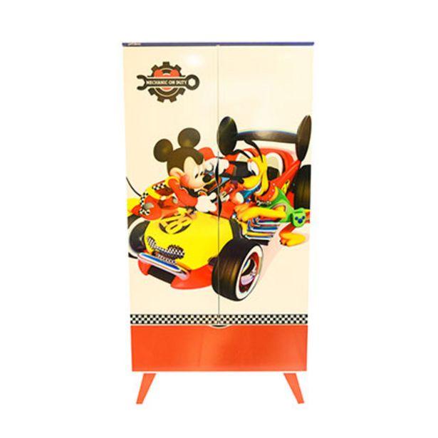Oferta de Mueble de Dormitorio Placard Disney D241/2 Mickey 2 Puertas 1 Cajon Laqueado en MDP o MDF 15 mm Piezas De Madera Maciza por $13249