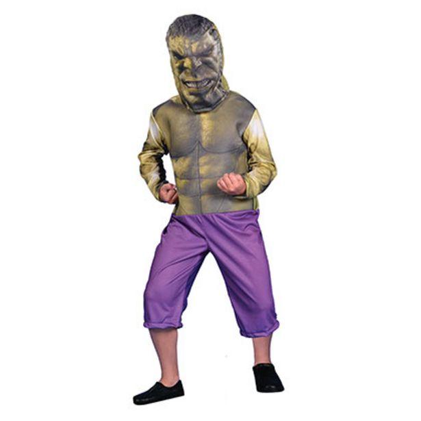 Oferta de Disfraz Hulk Con Luz Talle 1 Disney CAD213010 por $1299