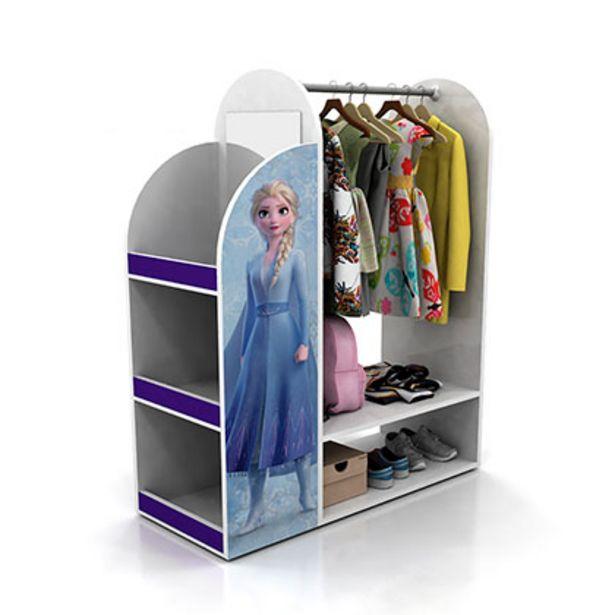 Oferta de Mueble De Dormitorio Interior Cajonera Armario Frozen Disney 241/16 Blanco 83 Cm De Ancho 1 Cajon 5 Estantes 1 Perchero por $8549
