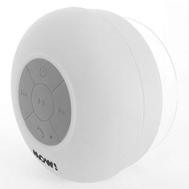 Oferta de Parlante Portatil MOW MW- AQUA Bluetooh Blanco por $899