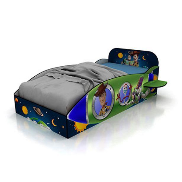 Oferta de Mueble De Dormitorio Cama De 1 Plaza Toy Story Disney 804/10 1,25 Mts De Ancho Tableados Laqueados Para Colchon De 180 x 90 por $14249
