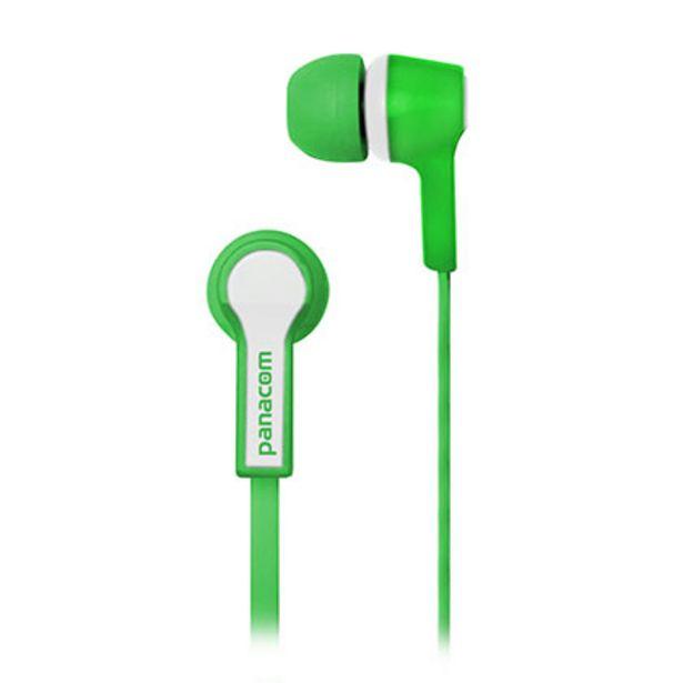 Oferta de Auriculares Panacom HP-9333 Verde por $570