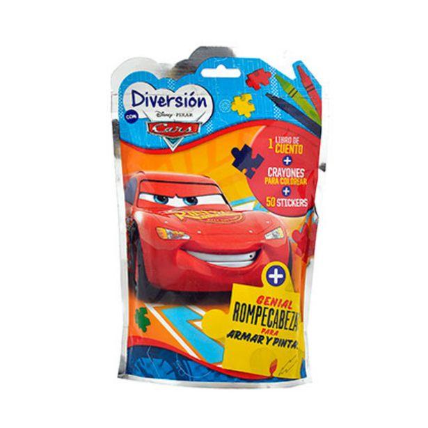 Oferta de Mini Flow Pack Juegos Block de Actividades Cars por $299