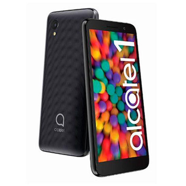 Oferta de Celular Libre Alcatel 1 5033 Metallic Black por $10999