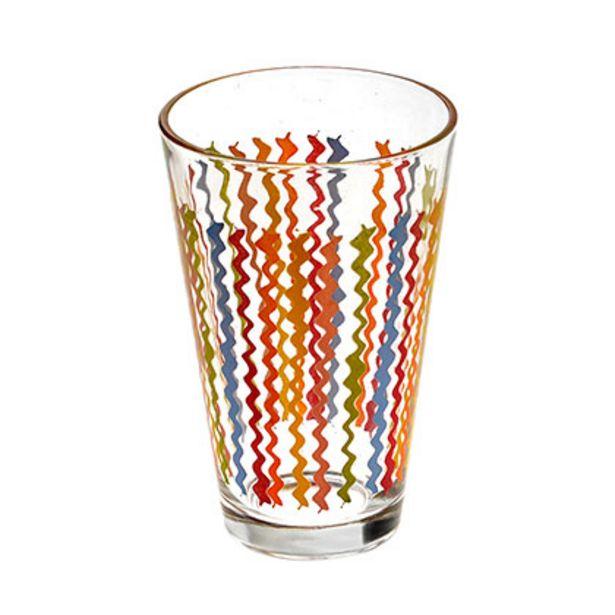 Oferta de Vaso Estampado Zig-Zag por $95