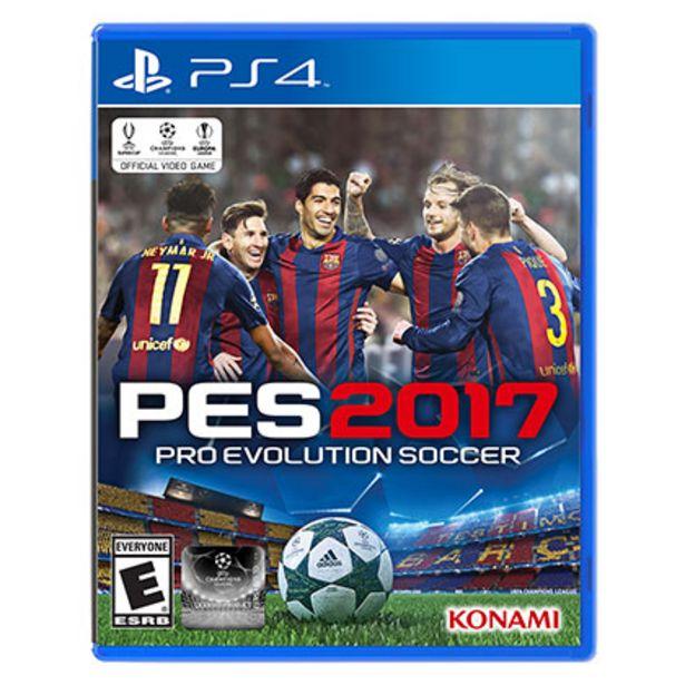 Oferta de Juego de Play Station 4 Konami PES 2017 por $1709