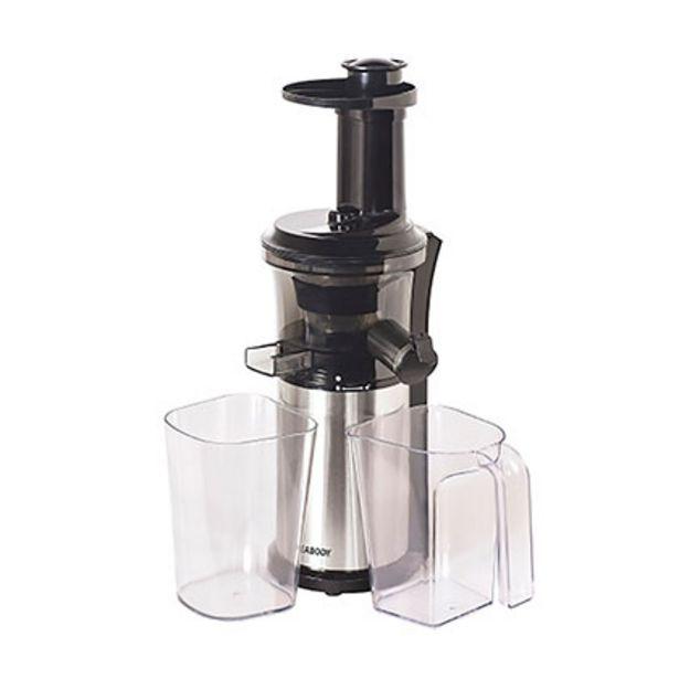 Oferta de Juguera Slow Juicer Extractor De Jugo Peabody PE-SJ10 por $13999