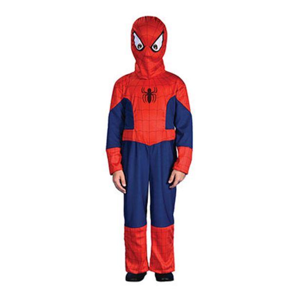 Oferta de Disfraz Spiderman Con Luz Talle 2 Disney CAD214310 por $1299