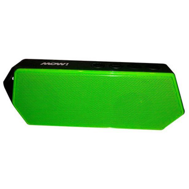 Oferta de Parlante Portatil MOW MW-POCKET Bluetooh Verde por $899