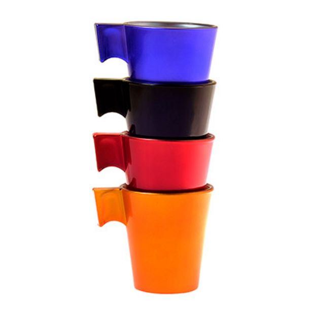 Oferta de Set X 4 Tazas Flashy Expresso Color por $950