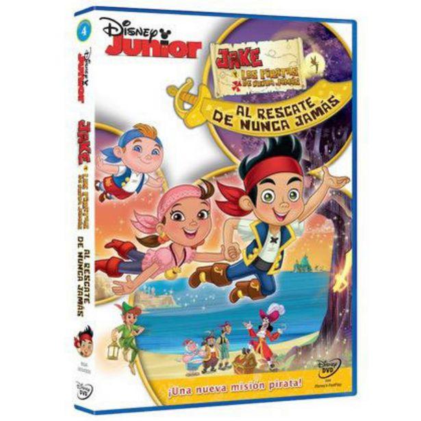 Oferta de Jake y Los Piratas El Rescate de Nunca Jamas por $32
