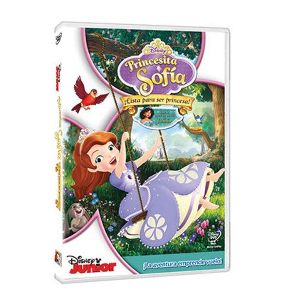 Oferta de Dvd Princesita Sofia Lista para Ser Princesa por $39