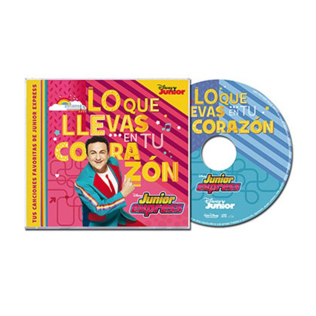Oferta de Cd Junior Express Lo Que Llevas en Tu Corazon por $78