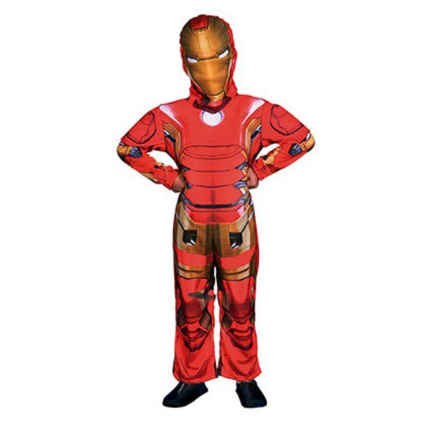 Oferta de Disfraz Ironman Con Luz Talle 2 Disney CAD218610 por $1429