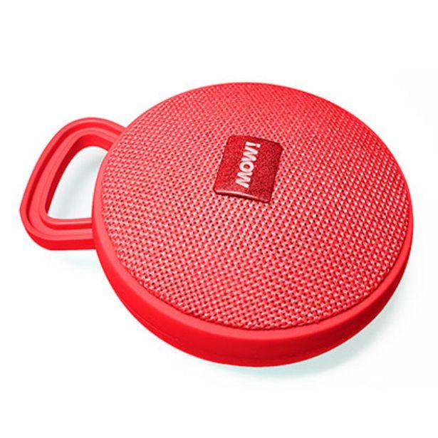 Oferta de Parlante Portatil MOW MW-S95 Rojo por $899