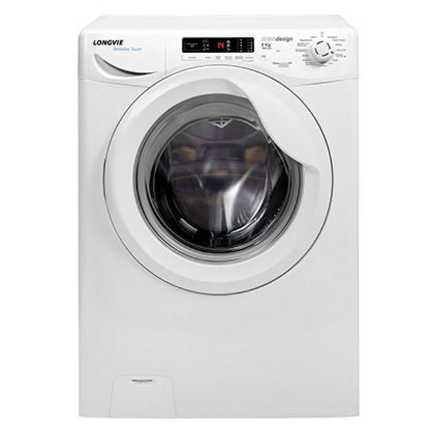 Oferta de Lavarropas Automático A++ Sensitive Touch 8 Kg 1000 Rpm Longvie L18010 Blanco por $55599