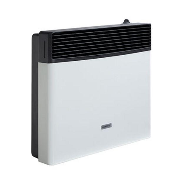 Oferta de Calefactor Estufa Multigas Por Convección Sin Salida 5200 C Longvie ECA5S Tiza/Grafito por $16499