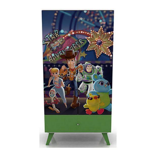 Oferta de Mueble De Dormitorio Placard Disney 241/10 Toy Story 90 Cm De Ancho 1 Estante 2 Puertas 1 Cajon Tableros Laqueados por $16149