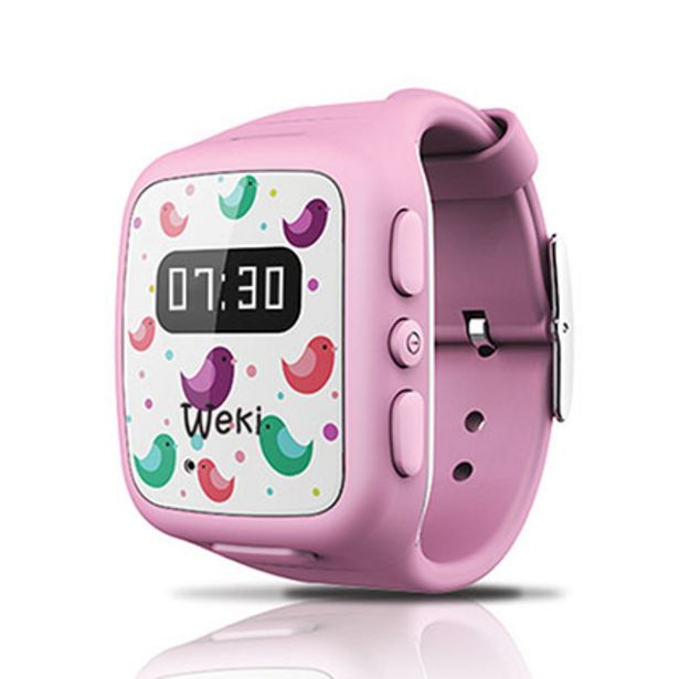 Oferta de Smart Watch Weki Rosa por $9499