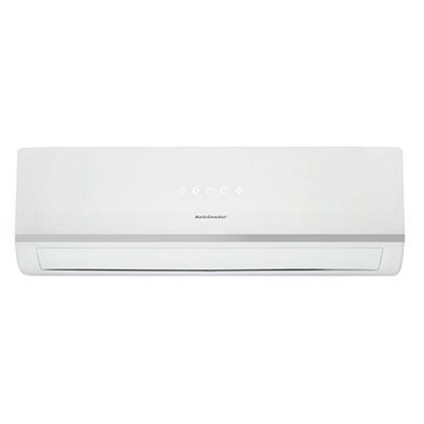 Oferta de Aire Acondicionado Split Frío Calor 4300 F 5000 W Con Eco Filter Kelvinator KLC5000FC Blanco por $67399