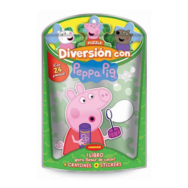 Oferta de JUEGOS DE CREATIVIDAD PEPPA PIG 3870 MINI JUEGOS N°2 por $285